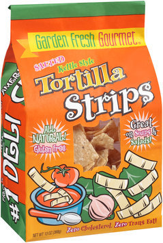 Garden Fresh Gourmet® Kettle Style Salted Tortilla Strips 13 oz. Bag