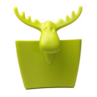 Koziol Mini Rudolf Carryall Solid Cup Color: Mustard Green