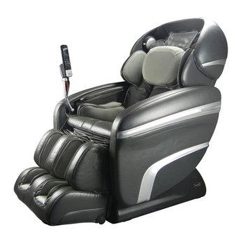 Osaki OS-7200CR Faux Leather Executive Massage Chair Color: Charcoal