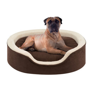 Soft Touch Milo Oval Cuddler Dog Bed - 36
