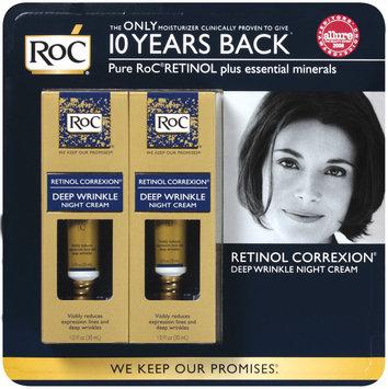 Roc® Deep Wrinkle Night Cream 2 Pk Retinol Correxion® 2 Fl Oz