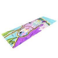 Kess Inhouse Nemo by Rebecca Fischer Horse Yoga Mat