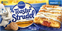 Pillsbury Toaster Strudel® Snickerdoodle Toaster Pastries 6 ct Box