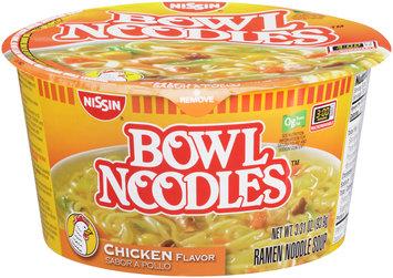 Nissin® Bowl Noodles™ Chicken Flavor Ramen Noodle Soup 3.31 oz. Bowl