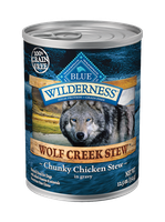 THE BLUE BUFFALO CO. BLUE™ Wilderness® Wolf Creek Stew™ Chunky Chicken Stew For Adult Dogs
