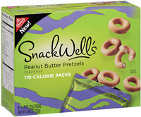 Nabisco® SnackWell's Peanut Butter Pretzels 6-0.78 oz 110 Calorie Packs
