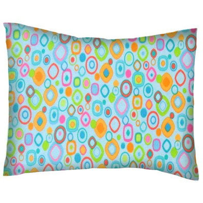 Stwd Fun Shapes Cotton Flannel Crib/Toddler Pillow Case