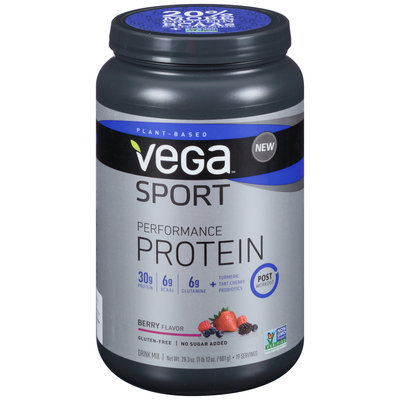 Vega™ Sport Performance Protein Berry Flavor Drink Mix 28.3 oz. Canister
