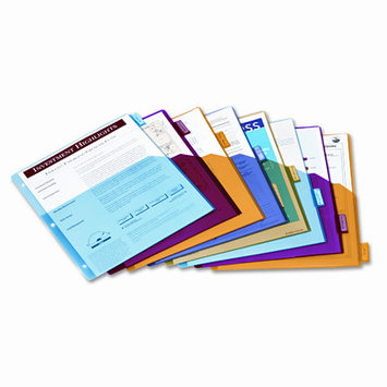 Cardinal Supplies Poly Index Dividers for Ring Binders