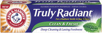 ARM & HAMMER™ Truly Radiant™ Clean Mint Fluoride Anticavity Toothpaste