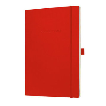 Sigel Conceptum Classic A5 Lined Softcover Notebook Black CO222