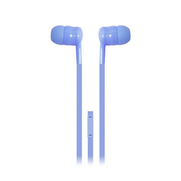 Iessentials Earbuds Headphones with Mic Color: Blue