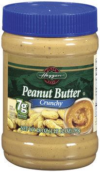 Haggen Crunchy Peanut Butter 28 Oz Plastic Jar