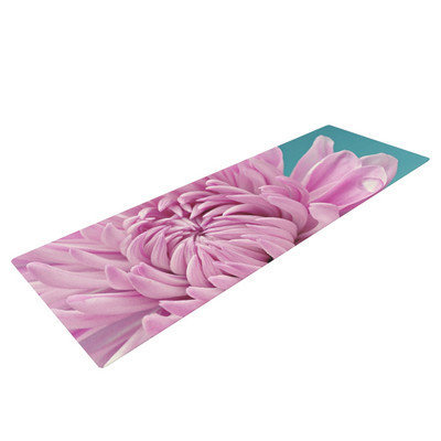 Kess Inhouse Purple Dream by Nastasia Cook Flower Yoga Mat