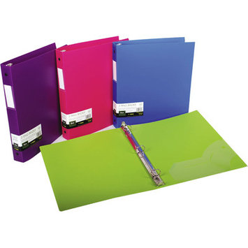 Filexec 3 Ring Binder 1 Inch Capacity Opaque Letter size Pack 4