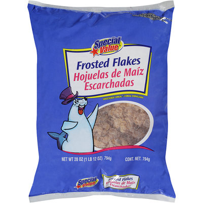 Special Value® Frosted Flakes Sweetened Cereal 28 oz Bag