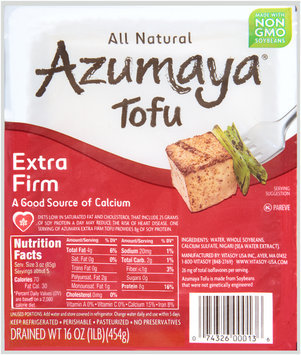 Azumaya® Extra Firm Tofu 16 oz. Tray
