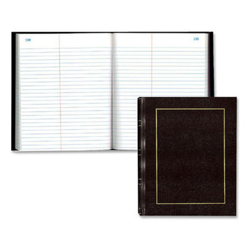 Rediform Ruled and Subject Notebooks Law Record Book, w/Center Line