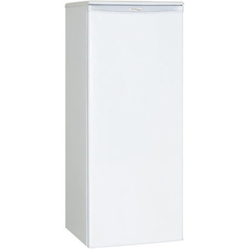 Danby DAR110A1WDD Compact Refrigerator with 11.0 cu. ft. (311 L) Capacity Mechanical Thermostat Scratch Resistent Worktop Environmentally Friendly Refrigerant and