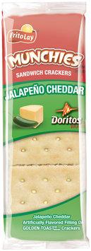 Munchies Doritos Jalapeno Cheddar Sandwich Crackers