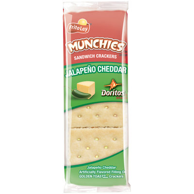 Munchies Doritos Jalapeno Cheddar Sandwich Crackers