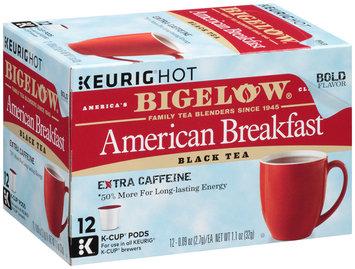Bigelow® American Breakfast Black Tea 12-0.09 oz. K-Cup Pods