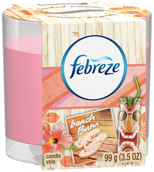 Candle Febreze Candle Beach Bum Air Freshener (1 Count, 3.5 Oz)