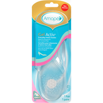 Amope GelActiv™ Everyday Heels Insoles 1 pr. Carded Pack