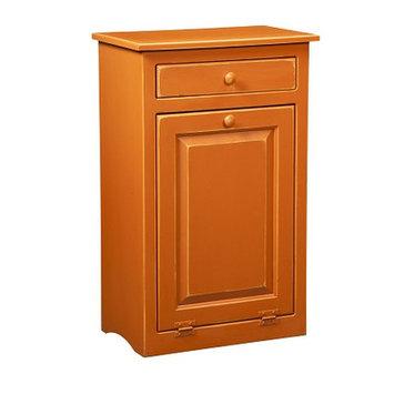 Chelsea Home 465-213-BO Burnt Orange Trash Bin