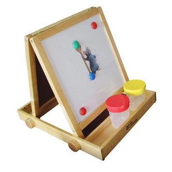 A+ Childsupply F8154 Birch Plywood Tabletop Easel