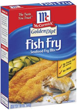 Golden Dipt Fish Fry Seafood Fry Mix 10 Oz Box