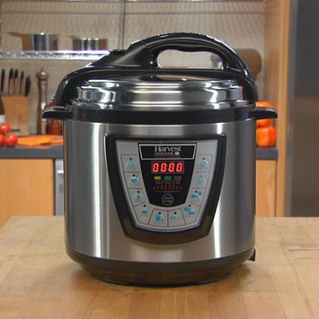Harvest Direct Pressure Pro Pressure Cooker Size: 8 Quart, Color: Black