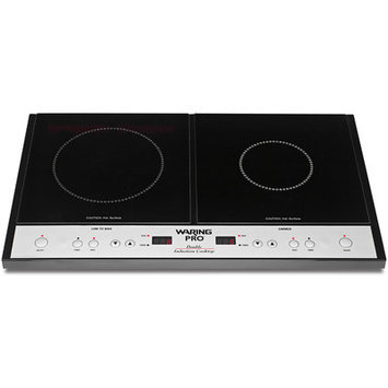 Waring Pro - Double Induction Cooktop (Black) - Home
