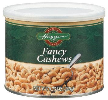 Haggen Fancy Cashews 9.75 Oz Canister