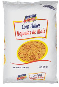 Special Value Corn Flakes Cereal 32 Oz Bag