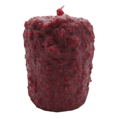 Starhollowcandleco Berries and Pine Pillar Candle Size: Tall Fatty 6.5