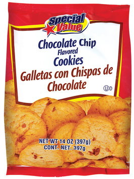 Special Value Chocolate Chip Cookies 14 Oz Bag