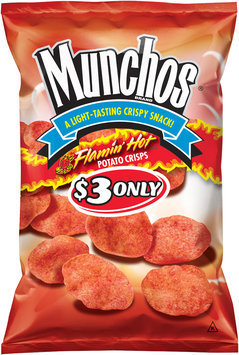 Munchos® $3 Only Flamin' Hot® Potato Crisps 7 oz. Bag