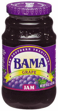 Bama Spreads Grape, Modified 6/2/07 Jam 16 Oz Jar