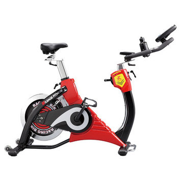 Mileage Fitness Commercial Indoor Cycling Bike with Console