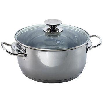 Range Kleen Berndes Cucinare Induction 9 qt. Stock Pot with Cover