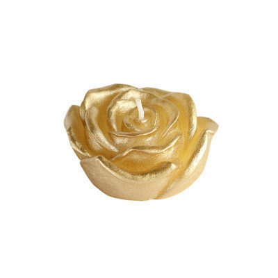 Zest Candle 3 Metallic Gold Rose Floating Candles