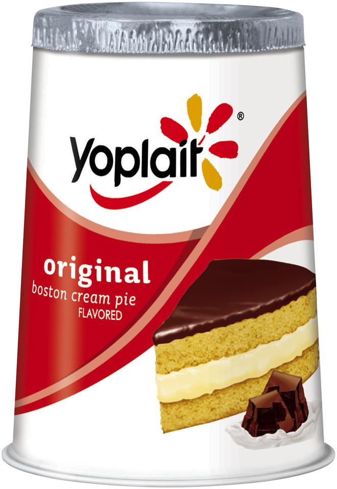 Yoplait® Original Boston Cream Pie Flavored Low Fat Yogurt