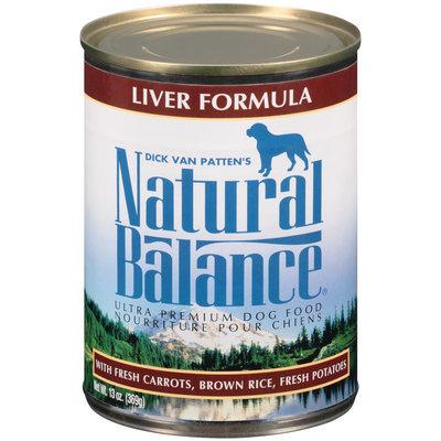 Natural Balance® Ultra Premium Liver Formula Dog Food 13 oz. Can