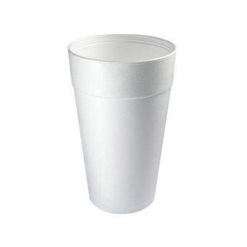 Dart Container Corp Dart Container Foam Cups 32TJ32 White 32 Ounce