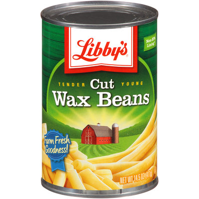 Libby's® Tender Young Cut Wax Beans 14.5 oz. Can