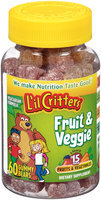 L'il Critters™ Fruit & Veggie Dietary Supplement Gummy Bears 60 ct Bottle