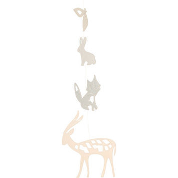 Trendy Peas Deer Fox Bunny Mobile