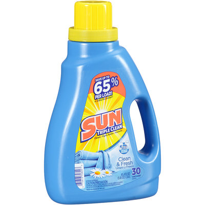 Sun® Clean & Fresh Laundry Detergent 30 Loads 45.4 Fl Oz Jug