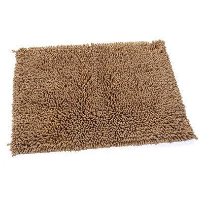 Textile Decor Castle 2 Piece 100% Cotton Melbourne Spray Latex Bath Rug Set, 24 H X 17 W and 34 H X 21 W